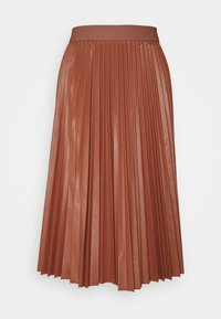 FLAVIANA - Jupe plissée - rust