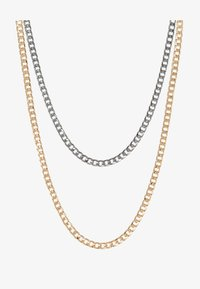 Burton Menswear London - SMOOTH CHAIN NECKLACE 2 PACK SET - Övrigt - mixed - 3