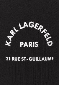 KARL LAGERFELD - ADDRESS LOGO - Tracksuit bottoms - black - 6
