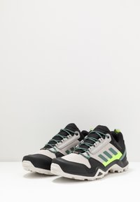 adidas Performance - TERREX AX3 GTX - Hiking shoes - grey two/signal green - 2