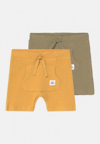 NBMHARDY 2 PACK - Shorts - ochre