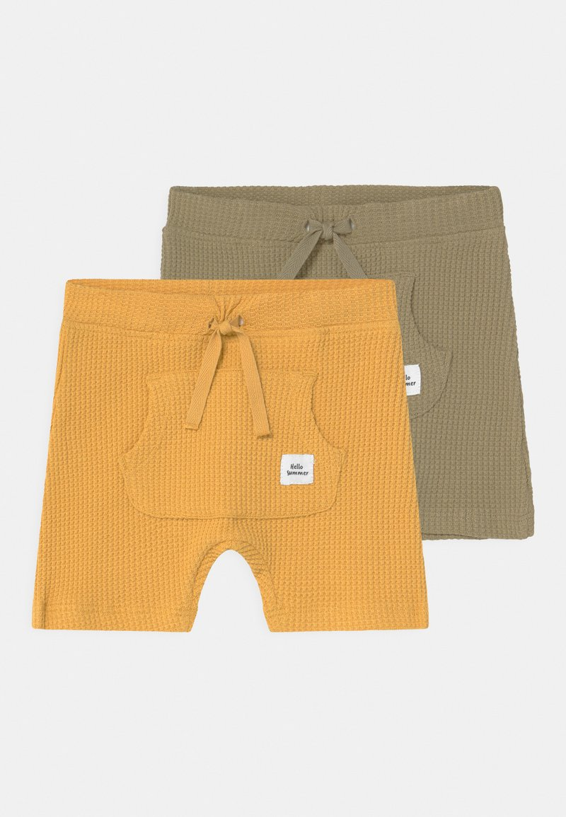 Name it - NBMHARDY 2 PACK - Shorts - ochre