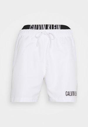 INTENSE POWER MEDIUM DOUBLE - Swimming shorts - classic white