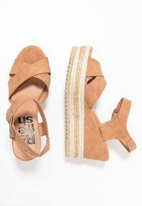 Refresh - High heeled sandals - camel - 3