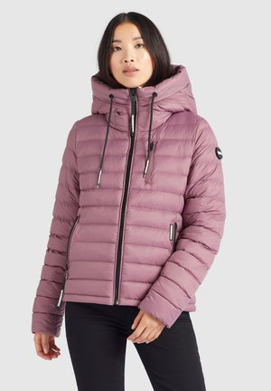LOVINA - Winter jacket - beige-rosa