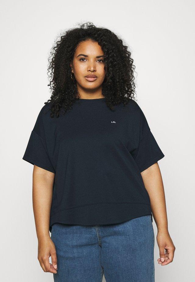 RASETTE SHORT SLEEVE - Basic T-shirt - navy