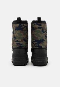 Polo Ralph Lauren - QUILO ZIP UNISEX - Winter boots - olive/orange - 2