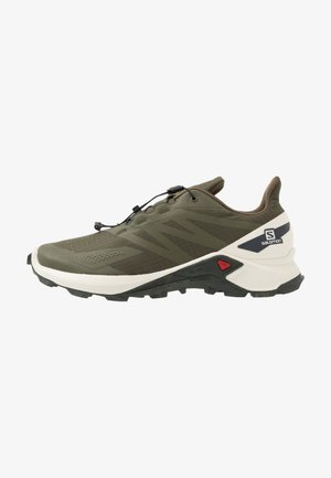 SUPERCROSS BLAST - Zapatillas de trail running - olive night/vanilla/ebony