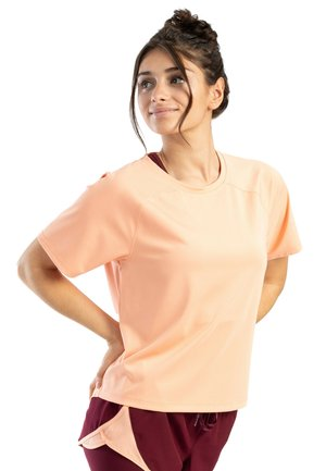 RUNNING MEDIUM SLEEVE - T-shirt basique - marigold