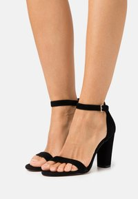 ALDO Wide Fit - JERAYCLYA  - High heeled sandals - black - 0