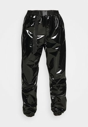 CAGO PANTS - Bukse - black