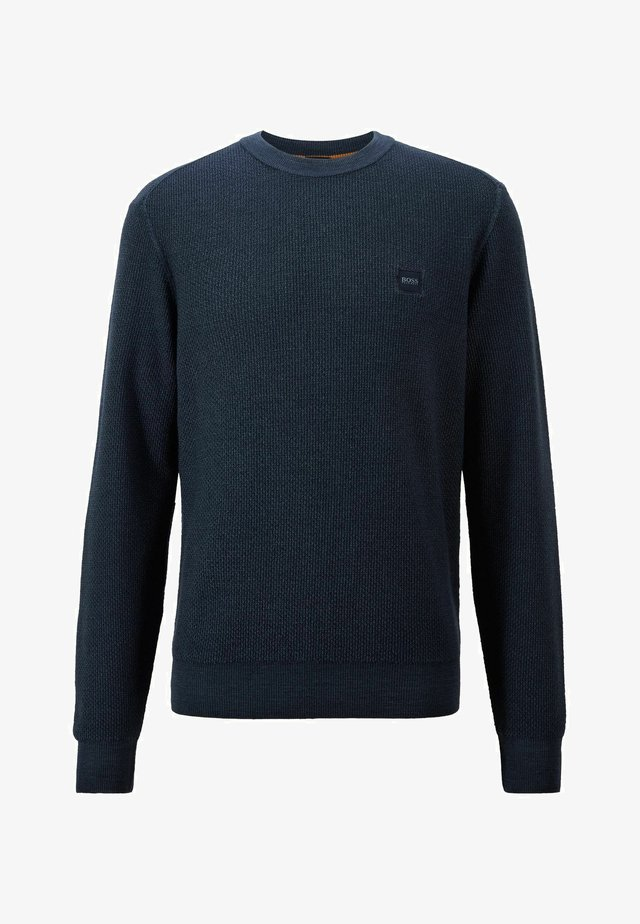 KUSTORIO - Strickpullover - dark blue