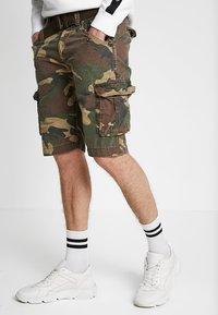 Schott - BATTLE - Shorts - khaki - 0