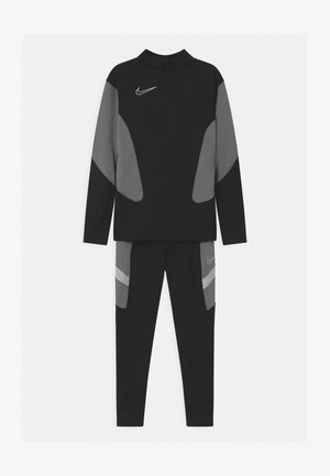 ACADEMY SET UNISEX - Trainingspak - black/white