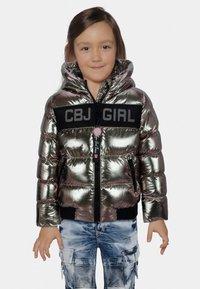 Cipo & Baxx - Winter jacket - silver - 0