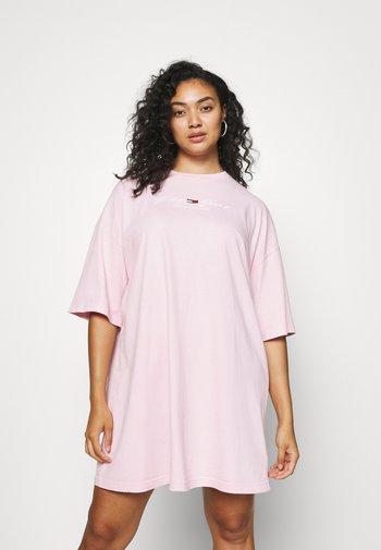 PASTEL TEE DRESS - Jersey dress - romantic pink