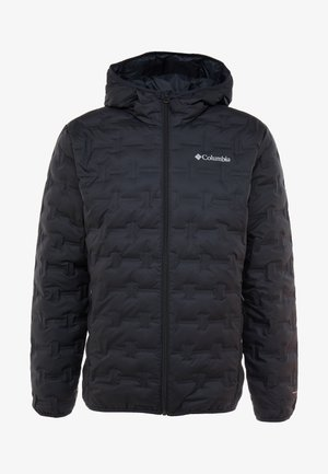 DELTA RIDGE HOODED JACKET - Bunda z prachového peří - black