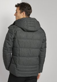 TOM TAILOR - Winterjas - mid grey structure - 2