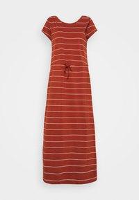 ONLY Tall - ONLMAY LIFE DRESS - Maxi dress - arabian spice/cloud dancer - 0