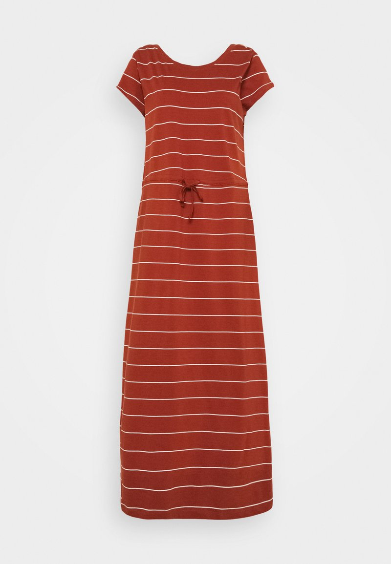 ONLY Tall - ONLMAY LIFE DRESS - Maxi dress - arabian spice/cloud dancer