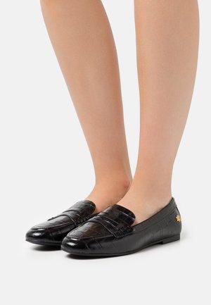 ADISON FLATS CASUAL - Slip-ons - black