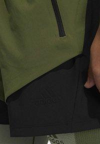 adidas Performance - STUDIO TECH SHORTS - Sports shorts - green - 7