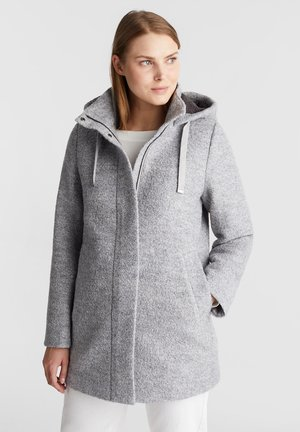 Wollmantel/klassischer Mantel - light grey