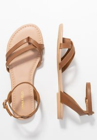 Anna Field - LEATHER - Tongs - cognac - 3