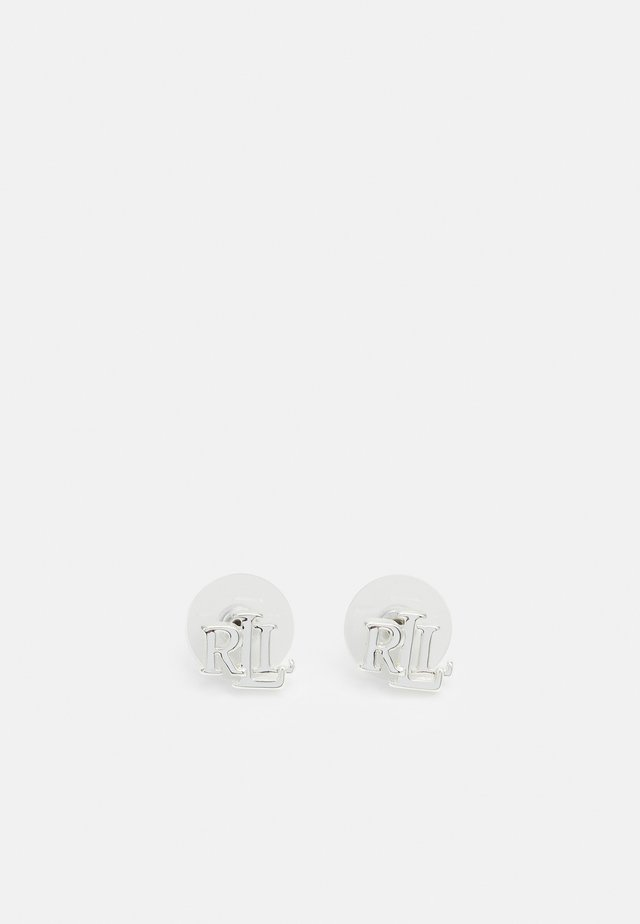 TAYLOR LOGO STUD - Earrings - silver-coloured
