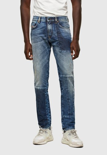 D-STRUKT - Straight leg jeans - medium blue