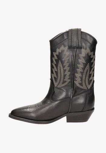 Cowboy-/Bikerlaarzen - zwart