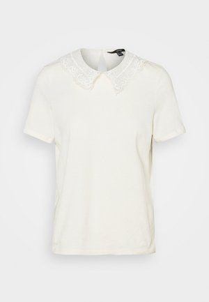 VMDUNA COLLAR - T-shirts med print - birch