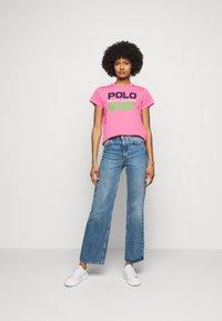 Polo Ralph Lauren - T-shirt con stampa - pink - 1