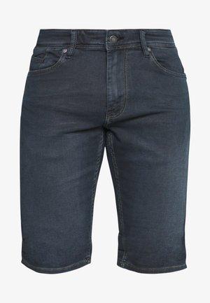 SCOTTY  - Denim shorts - blue black