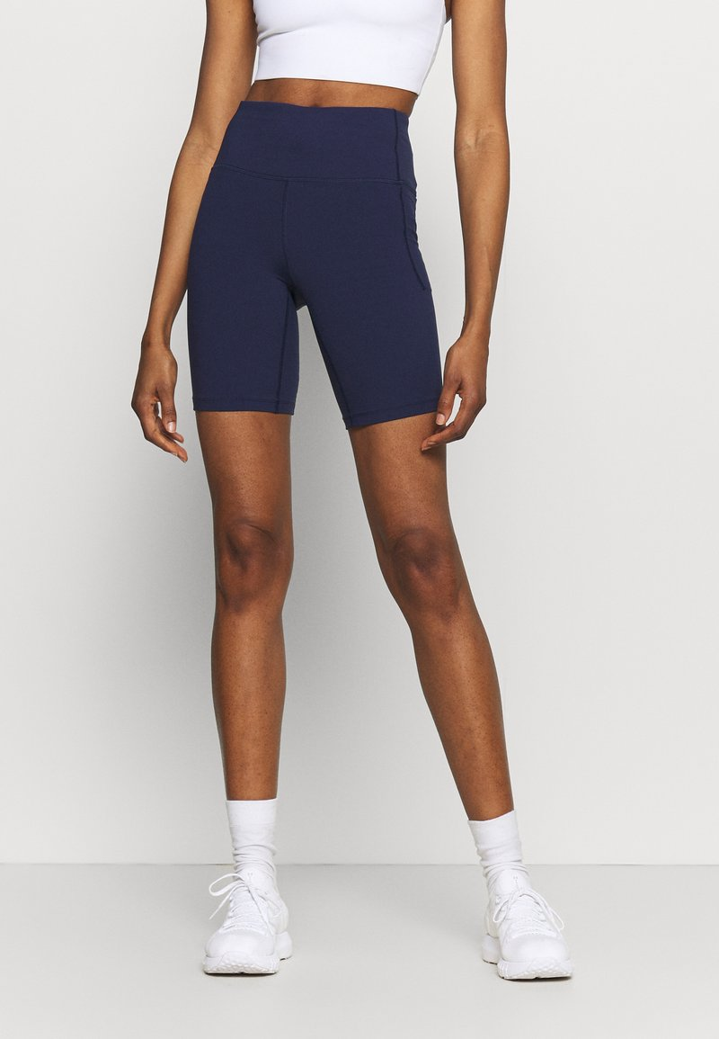 Under Armour - MERIDIAN BIKE SHORTS - Leggings - midnight navy