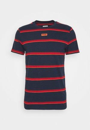 MOTEL TEE - Print T-shirt - navy