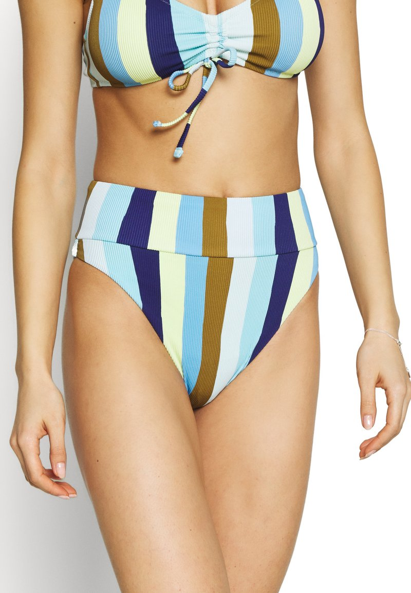 aerie - HI CUT CHEEKY - Bikini bottoms - bluejay