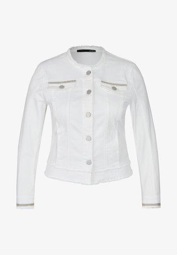 Denim jacket - weiss