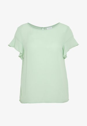 VILUCY FLOUNCE - Blouse - cameo green