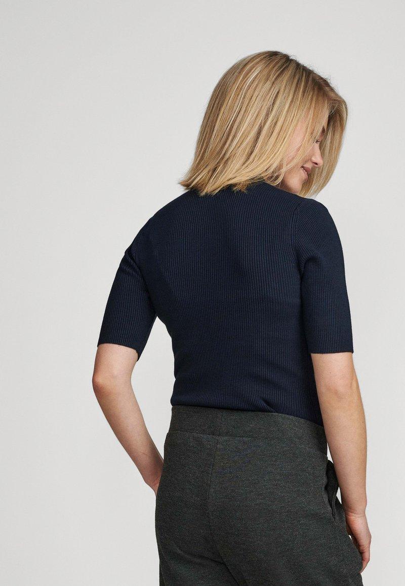 Nümph - NUBIA  - Print T-shirt - dark blue