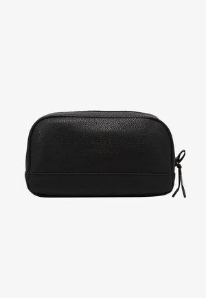 WASHBAG - Wash bag - black/gunmetal