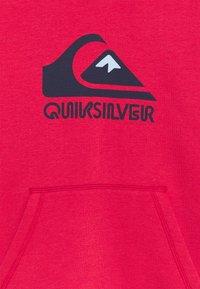 Quiksilver - BIG LOGO YOUTH - Felpa con cappuccio - american red - 2