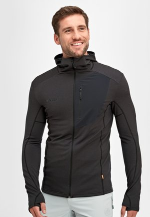 ACONCAGUA - Soft shell jacket - black