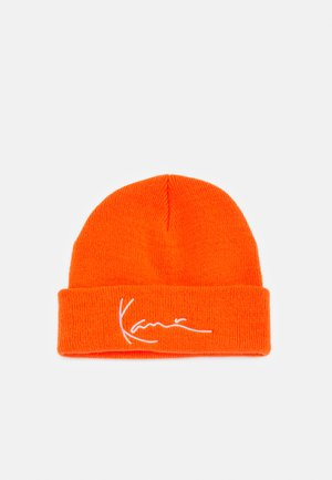 SIGNATURE FISHERMAN BEANIE UNISEX - Beanie - orange