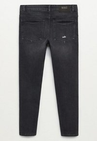 Mango - CALVIN - Jeans Slim Fit - black denim - 5