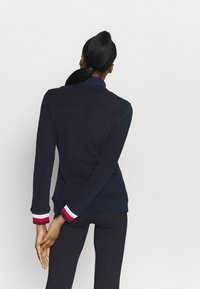 Tommy Hilfiger - SLIM GLOBAL ZIP UP - Veste de survêtement - blue - 2