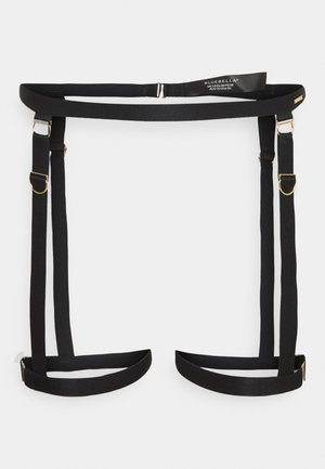 THEA THIGH HARNESS - Pas do pończoch i Podwiązki - black