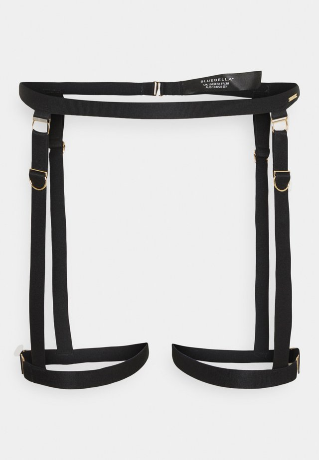 THEA THIGH HARNESS - Strømpeholdere - black