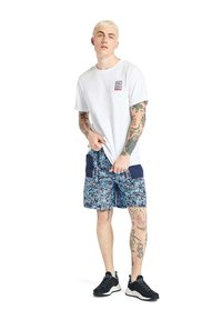 Timberland - OUTDOOR ARCHIVE GRAPHIC - Print T-shirt - white - 1