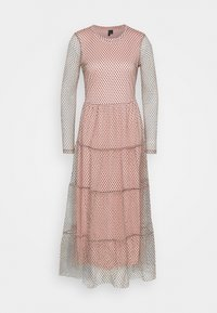 Vero Moda Tall - VMJUANA DRESS - Occasion wear - misty rose/black - 3